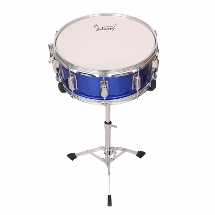 """Glarry Snare Drum Head 14/""""x5.5/"""" with Drumstick Strap for Student Band"""